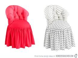 Vanity Chair Stool Bathroom Enchanting Regal Looking Vanity Chair Skirt Round