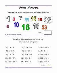 factors multiples and prime numbers worksheets huanyii com