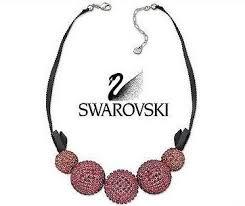 swarovski necklace pink images Swarovski pin up pink necklace pendant pink 1127197 zhannel jpeg