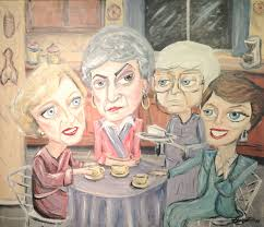 cheesecake with the golden girls anyone which character are you