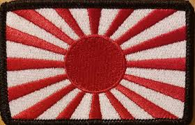 Ir American Flag Patch Japan Flag Military Patch With Velcro Brand Japanese Empire Sun