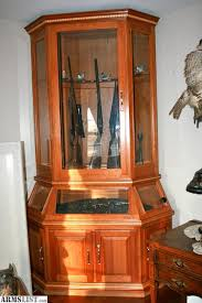 gun cabinet for sale armslist for sale custom gun cabinet