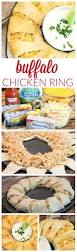 buffalo chicken crescent roll ring recipe buffalo chicken ring