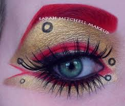 avengers themed iron man eye makeup avengers iron man and iron man 3
