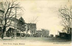 map of oregon mo oregon county missouri 1904 map diseña invitaciones fotos ideas