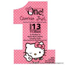 hello kitty birthday invitations free online no 1 hello kitty