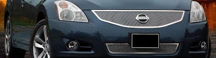 2011 nissan altima custom grilles billet mesh led chrome black