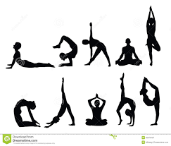 Free Silhouette Images Yoga Silhouettes Royalty Free Stock Photography Image 20079197