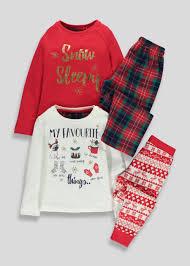 christmas pyjamas u0026 onesies family christmas pjs u2013 matalan