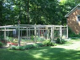 garden fence ideas with vegetable garden l andscape traditional