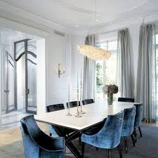 Velvet Dining Room Chairs Blue Dining Room Chairs Icifrost House