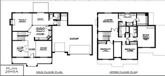 Luxury House Blueprints Modern House Plans Two Story House Design Modern On 3d House Floor