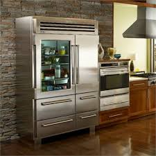 glass door refrigerator home fleshroxon decoration