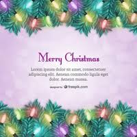 christmas card template with text vector free vector download in