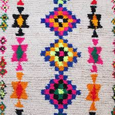 Rugs From Morocco Azilal Rugs From Morocco Handmade Berber Carpet Colorful