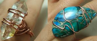 make wire rings images Wire wrapped ring tutorial jpg