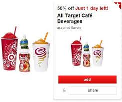 target black friday ends 50 off target cafe drinks cartwheel offer