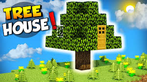 minecraft how to build a house in a tree live inside a tree