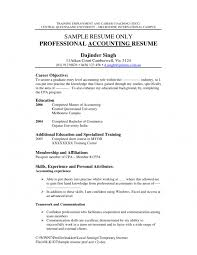 Sample Resume Entry Level Accounting Position by Cover Letter Sample Resume For Accountant Position Sample Resume