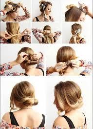 Hochsteckfrisuren Mittellange Haare Einfach by Dirndl Frisuren Lange Haare Selber Machen Geburtstagswünsche