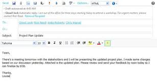 message d absence du bureau configurer votre out of office notification dans outlook web app