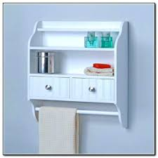small bathroom wall shelving ideas shelf mounted unit corner towel