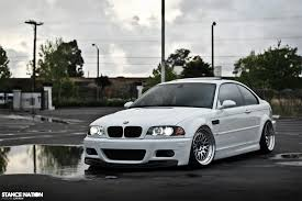 stancenation bmw white black silver nice clean bmw 3 dakos3