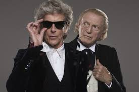 doctor who christmas special 2017 peter capaldi and david