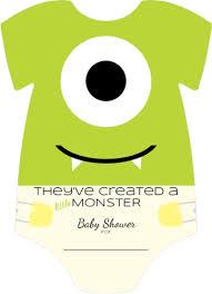 cute baby shirt little monster fill in blank baby shower