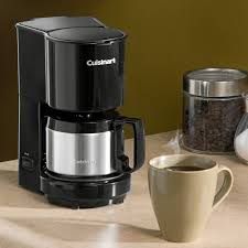 Coffee Maker With Grinder And Thermal Carafe Cuisinart Dcc 450 4 Cup Coffee Maker With Stainless Steel Carafe