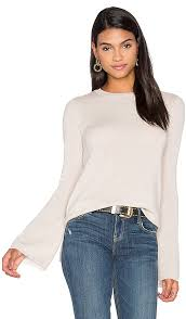 bell sleeve sweater autumn bell sleeve sweater in mojave revolve