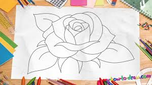 how to draw a rose new 2015 easy step by step drawing lessons