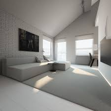 Grey Feature Wall Light White And Minimalist Homes Inspiring Clarity Of Mind Best