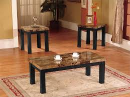 Pc Coffee Table 3 Piece Marble Coffee Table Set