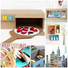 30 shoe box craft ideas red ted art u0027s blog