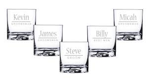 personalized glasses wedding personalized whiskey glasses groomsmen gifts rocks glasses
