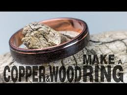wooden metal rings images How to make a copper and wood ring jpg