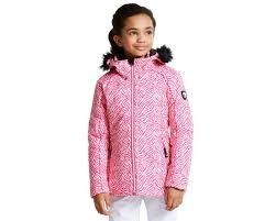 kids entrust ski jacket cyber pink dare2b