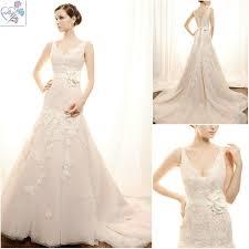 lace v neck wedding dresses weddingcafeny com