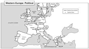 Printable Map Of Italy by Of Europe Black And White Printable