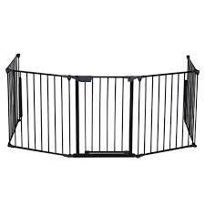 Fireplace Child Safety Gate by Fireplace Fence Baby Safety Fence Hearth Gate Pet Dog Cat Steel