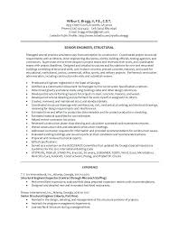 sample resume for structural engineer professional engineer sample