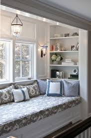 Bay Window Bench Ideas Fascinating Bay Window Ideas With Window Seat 17 On Home Remodel