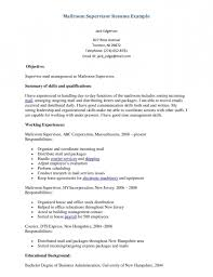 Mailroom Clerk Job Description Resume Mailroom Clerk Job Resume