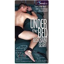 under the bed manbound under the bed restraint gear black ebay