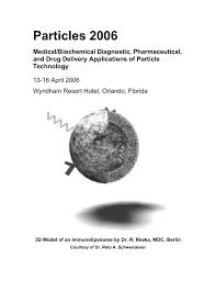 particles 2006 medical biochemical diagnostic pharmaceutical and