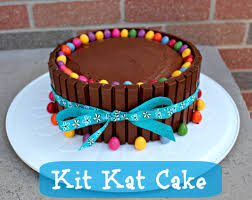 how to decorate a cake at home birthday cake ideas u2013 kit kat cake recipe little miss kate