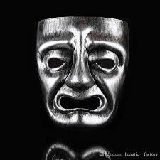 mardi gras mens mask retro masquerade mask comedy tragedy mardi gras sad
