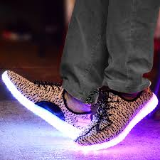 light up shoes for sale kids led light up yeezys shoes white black usb charging sale
