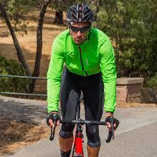 road cycling jacket ekoi rain stop pocket green fluo windproof jacket